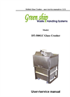 DT-500GC Glass Crusher User & Service Manual