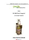 DT-200i Waste Compactor & Baler User Manual