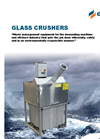 Model DT-500GC - Glass crusher/Bottle Grinder – Brochure