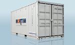 MORTIM - Model 20 - Containerized waste management station