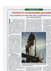 Waterloo Barrier - Groundwater Containment Wall - Brochure