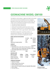 Hydraulic Track Mounted Remote Controlled Multi-Purpose Drill Rig Brochure