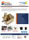 The FatBusta Domestic Grease Traps - Brochure