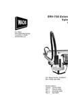 Mounted Valve Exercisers ERV-750- Brochure