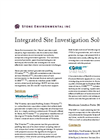 Integrated Site Investigation Solutions- Brochure