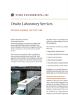 Onsite Laboratory Services - Brochure