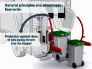 Electric bin lifts for refuse collection vehicles