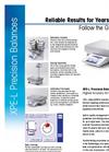 XPE - Precision Balances - Datasheet
