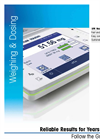 Weighing and Dosing Solution: Reliable Results for Years to Come, Follow the Green Light Brochure