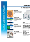 HS153 Moisture Analyzer. Boost Productivity In the Lab and Factory Datasheet