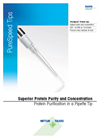 Rainin PureSpeed Protein Tips for electronic pipettes Brochure