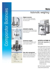 Model AX - Automated Mass Comparators Datasheet