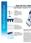 Model Pipet-Lite XLS+ - Multichannel Pipettes Datasheet