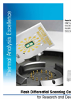 Model Flash DSC 1 - Flash Differential Scanning Calorimeter Brochure