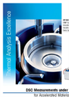 Model HP DSC 1 - High Pressure Differential Scanning Calorimeter Brochure