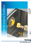 Model TGA 1 - Thermogravimetric Analyzer Brochure
