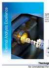 Model TGA/DSC 2 - Thermogravimetric Analyzer Brochure