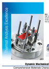 Model DMA 1 - Dynamic Mechanical Analyzer Brochure