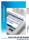 SevenExcellence pH Meter - Professional Multi-Channel Meter with Touch Screen Brochure