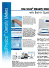 Benchtop Density Meters Brochure