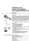 GPro 500 Oxygen Gas Sensor Technical Specifications