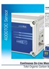 Thornton 4000TOC Total Organic Carbon Sensor Data Sheet