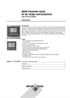 M300 1-channel Transmitter pH/ORP - Technical Specifications
