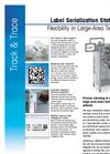 Label Serialization Station LSS Datasheet