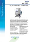 METTLER TOLEDO X-ray systems X36 Series Datasheet