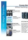 ACT350 Weight Transmitter Datasheet