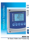 Model M200 Multi-Parameter Transmitter Datasheet
