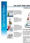 V10S Compact Volumetric KF Titrator  Datasheet