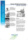 Vacuum Mass Comparators Data Sheet