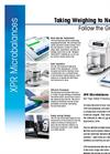 XPR Microbalances Datasheet