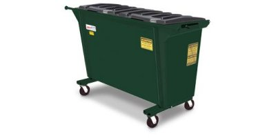 AmeriKan - Model Straight 100 - Rear Load Container