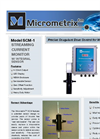 Micrometrix - Model SCM-1 - Streaming Current Monitor Data Sheet