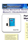 Model PM-1 - Particle Monitor Brochure