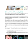 Official launch of Sciences & Animals Paris Saclay (SAPS) Brochure