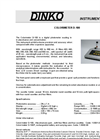 Model D-100 Colorimeter Data Sheet (PDF 266 KB)