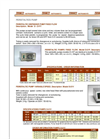 Peristaltic Dispenser Pumps (Fixed Flow) Data Sheet (PDF 70 KB)