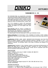 Model D-112 Turbidimeter Data Sheet (PDF 105 KB)