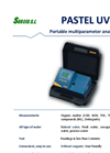 SURCIS - Model PASTEL UV - Portable Multiparameter Analyzer - Brochure
