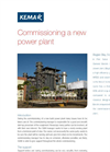 Commissioning a new power plants