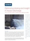 Modelling: optimisation chemical dosing and insight in impact cooling water discharge