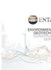 Environmental & Eotechnical Construction Services Brochure