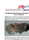 US Jetting 4018 & 4025 Run-Dry Plunger Pumps – Brochure