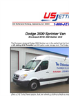 4018-200 Sprinter Van US Jetting unit within an economical diesel powered Sprinter van. – Brocure