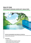 Lumex - RA-915M - Portable Zeeman Mercury Analyzer - Brochure