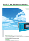 Model RA-915 AM Air Mercury Monitor - Brochure