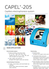 Capel - Model 205 - Capillary Electrophoresis System - Brochure